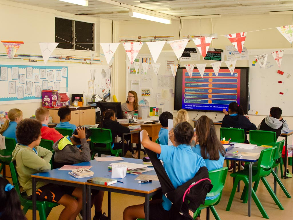 Year 5 and 6 Classroom