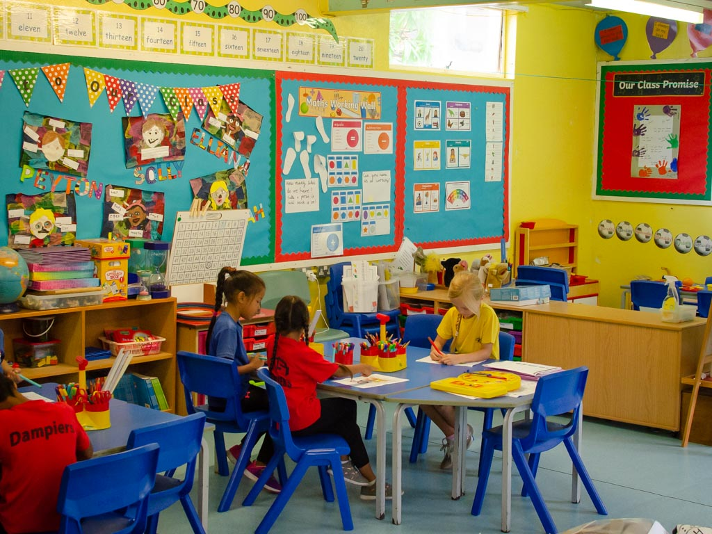 Year 1 and 2 Classroom